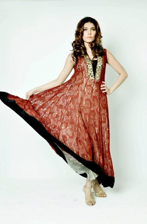 Style in pk umsha by uzma babar 2012 new formal wear now for Bano market faisalabad dresses