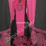 Zonah's Designer Wear Latest Summer 2012 Fashion Dresses 003