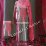 Zonah's Designer Wear Latest Summer Dresses 2012 008