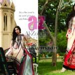 Al-Zohaib Mahiymaan Lawn Prints 2012 for Women 007
