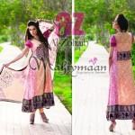 Al-Zohaib Mahiymaan Lawn Prints 2012 for Women 008