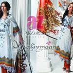 Al-Zohaib Mahiymaan Lawn Prints 2012 for Women 012