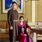 Ali Rajwana Latest Eid 2012 Dresses For Men And Women 005