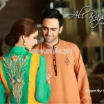 Ali Rajwana Latest Eid 2012 Dresses For Men And Women 006