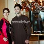 Ali Rajwana Latest Eid 2012 Dresses For Men And Women 008