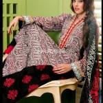 Ayesha Somaya Latest Lawn Prints For Women 2012 001