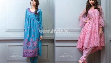 Bareeze Latest Eid 2012 Embroidered Collection For Women 002