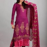 Dawood Lawns Embroidered Collection 2012 004