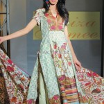 Faiza Samee Lawn Collection 2012 by Alkaram Textiles 002