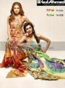 Gul Ahmed Latest Eid Dresses For Women 2012 013
