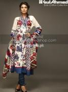 Gul Ahmed Latest Eid Dresses For Women 2012 017
