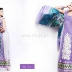 Hira Lari By Afroze Textiles Dresses For Eid 2012 001