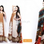 Hira Lari By Afroze Textiles Dresses For Eid 2012 002