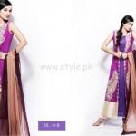 Hira Lari Eid Dresses 2012 By Afroze Textiles 007