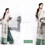 Hira Lari Eid Dresses 2012 By Afroze Textiles 009