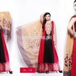Hira Lari Eid Dresses 2012 By Afroze Textiles 011