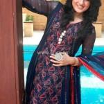 Image Fabrics 2012 Stylish Eid Dresses for Girls 012