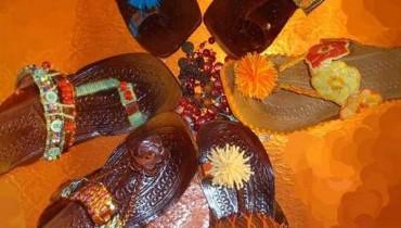 Inventive Handmade Kolhapuri Chappals 2012 For Women 001
