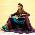 Mallal's Designer Lawn Latest Eid Dresses For Women 2012 006