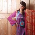 Mallal's Designer Lawn Latest Eid Dresses For Women 2012 007