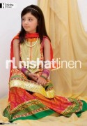 Nishat Linen Latest Eid Collection 2012 For Kids 005