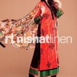 Nishat Linen Latest Summer Fashion Dresses 2012 010