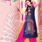 Rang Ja Latest Eid Embroidered 2012 Collection 004
