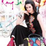 Rang Ja Latest Eid Embroidered 2012 Collection 005