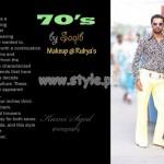 Satrangi by Saqib Latest 70's Collection Casual Wear 2012 004