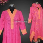 Tehseen Rehan 2012 Rangeen Collection 005