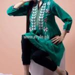 Beech Tree Latest Party Wear Dresses For Eid-Ul-Fitr 2012 002
