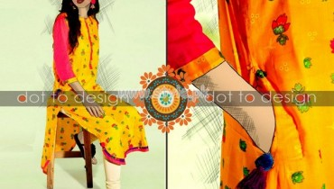 HK-Dot to Design Eid Collection 2012 Casual Dresses 001
