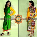 HK-Dot to Design Eid Collection 2012 Casual Dresses 003
