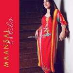 Maansal Estilo Latest Dresses 2012 for Women 003