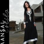 Maansal Estilo Latest Dresses 2012 for Women 007