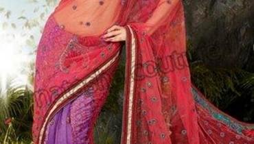 Natasha Couture Sarees and Lehenga Collection 2012 With Shweta Tiwari 001