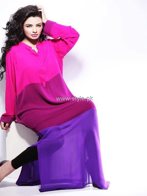 Rabiya Mumtaz Color Blocked Collection 2012 for Women