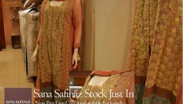 Sana Safinaz Pret Collection 2012 At Melange 001