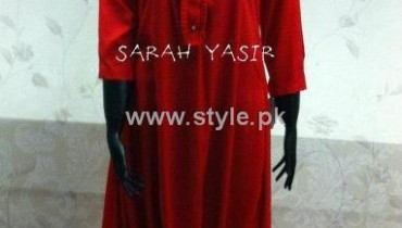 Sarah Yasir Eid Collection 2012 for Women