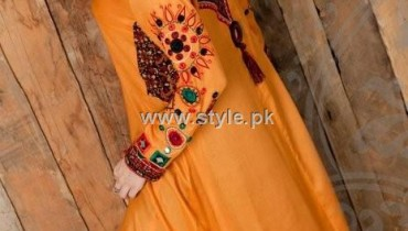 Turquoise Eid Collection 2012 for Ladies 001