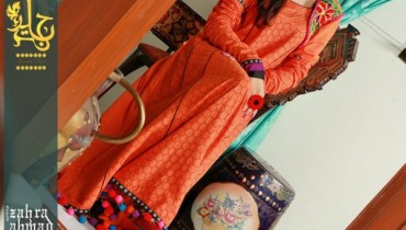 Zahra Ahmed Eid Collection 2012 For Women 001