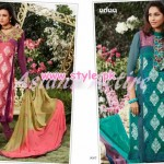 Asianz Attire Latest Party Wear Collection 2012 011