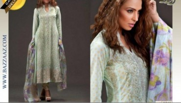 Fashion Diva Premium Embroidered Lawn Collection 2012 002
