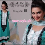 Ghani Textiles Latest Mid Summer 2012 Collection 001