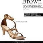 Gul Ahmed Designer Footwear 2012 for Ladies 001
