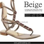 Gul Ahmed Designer Footwear 2012 for Ladies 010