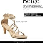 Gul Ahmed Designer Footwear 2012 for Ladies 013