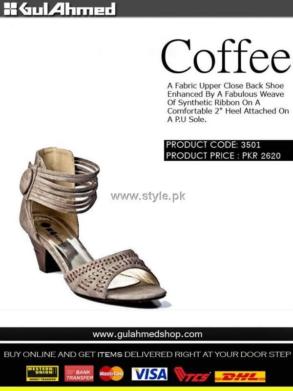 Gul Ahmed Designer Footwear 2012 for Ladies