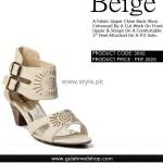 Gul Ahmed Designer Footwear 2012 for Ladies 015