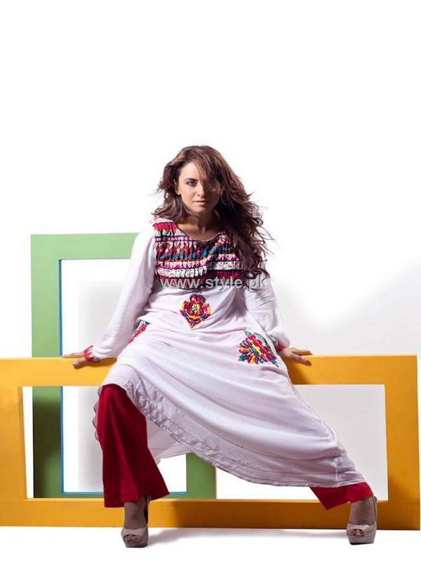 Mohsin Naveed Ranjha New Outfits 2012 for Women